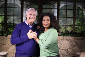 Jack Canfield and Oprah Winfrey